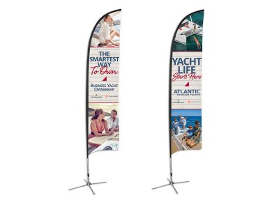 Atlantic Cruising Yachts Flag Stands