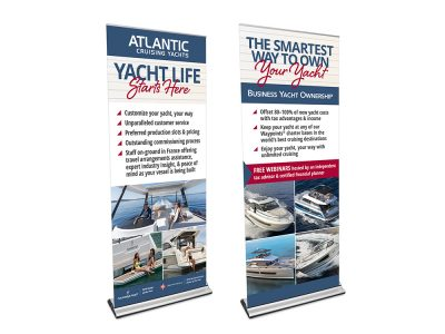 Atlantic Cruising Yachts Banner Stands
