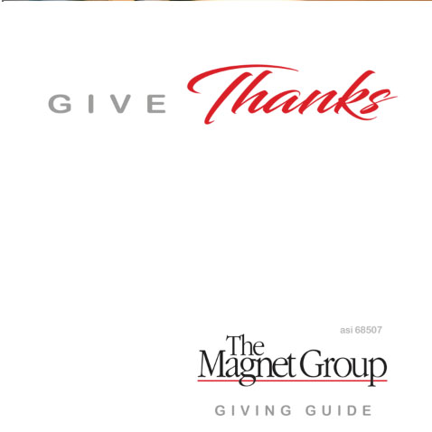 Magnet Group Holiday Gift Catalog 2020